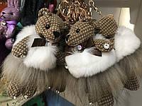 Брелок Текстильный Мишка с ароматизатором