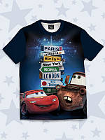 Детская футболка Тачки города