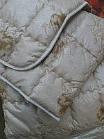 Зимнее теплое одеяло из верблюжьей шерсти 160*210.