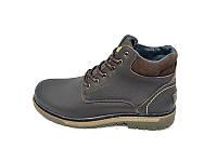 Мужские зимние ботинки с нат.кожи Multi Shoes Mat ST-1 Brown размеры: 40 41 42 43 44 45