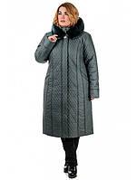 Зимнее плащевое пальто от производителя