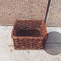 Плетеный лоток, короб 30*40 в10 см , фото 1