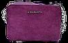 Прямоугольная женская сумочка на плечо MK фиолетового цвета QQN-075500