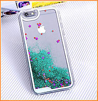 Чехол-накладка (Жидкий Блеск) Series 2 для IPhone 6/6s Green