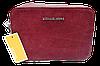 Прямоугольная женская сумочка на плечо MK бордового цвета QQN-075539
