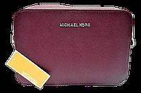 Прямоугольная женская сумочка на плечо MK пурпурного цвета QQN-075591, фото 1