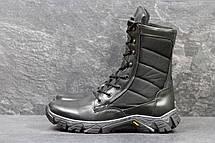 Армійські черевики-берці зимові, натуральна шкіра,чорні, фото 2