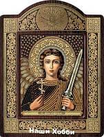 Набор для вышивки бисером икона в рамке-киоте СН8005 Ангел Хранитель