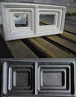 """Форма для гипсовых 3d блоков (перегородок) """"Ступень"""", фото 1"""