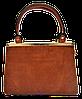 Симпатичная женская сумка YIRUI рыжего цвета  ТQV-110082