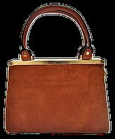 Симпатичная женская сумка YIRUI рыжего цвета  ТQV-110082, фото 1