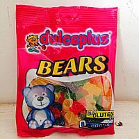 Жевательные конфеты без глютена Bears Dulceplus (мишки) Испания 100г