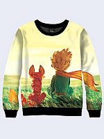 Женский свитшот The Little Prince and Fox