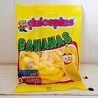 Жевательные конфеты без глютена Bananas Dulceplus (бананчики) Испания 100г