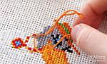 Схемы для вышивки нитками мулине на канве