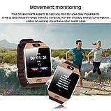 Умные часы Bluetooth Smart Watch DZ09 - Gold, фото 5