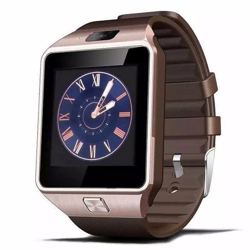 Умные часы Bluetooth Smart Watch DZ09 - Gold