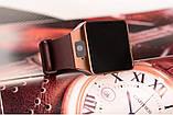 Умные часы Bluetooth Smart Watch DZ09 - Gold, фото 2