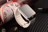 Розумні годинник Bluetooth Smart Watch DZ09 - White, фото 2