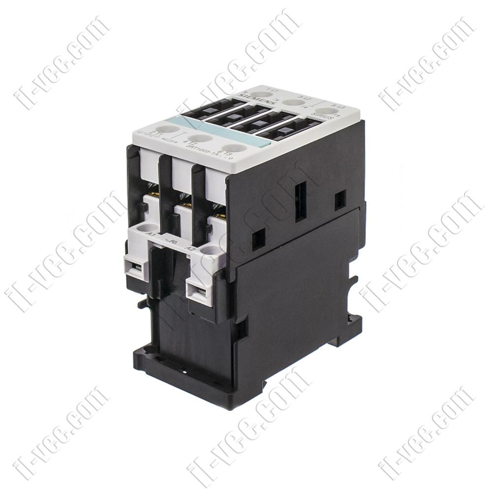 Контактор Siemens 3RT1023-1AG20, AC-3 4kW 400V, 110VAC