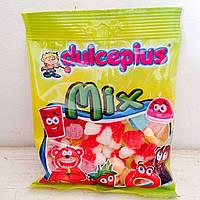 Жевательные конфеты без глютена Mix Dulceplus (микс в сахаре) Испания 100г