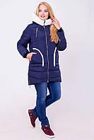 Зимняя удлиненная куртка парка