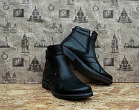 Ботинки мужские Karat 11-538-k1 натуральная кожа и мех, фото 1