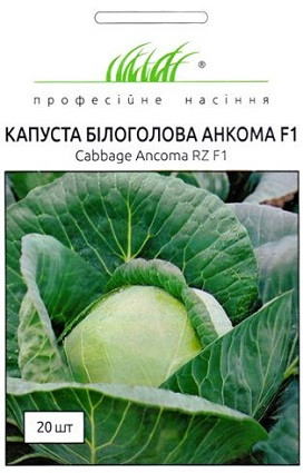 Семена капусты белокочанной Анкома F1 20 шт, Rijk Zvaan