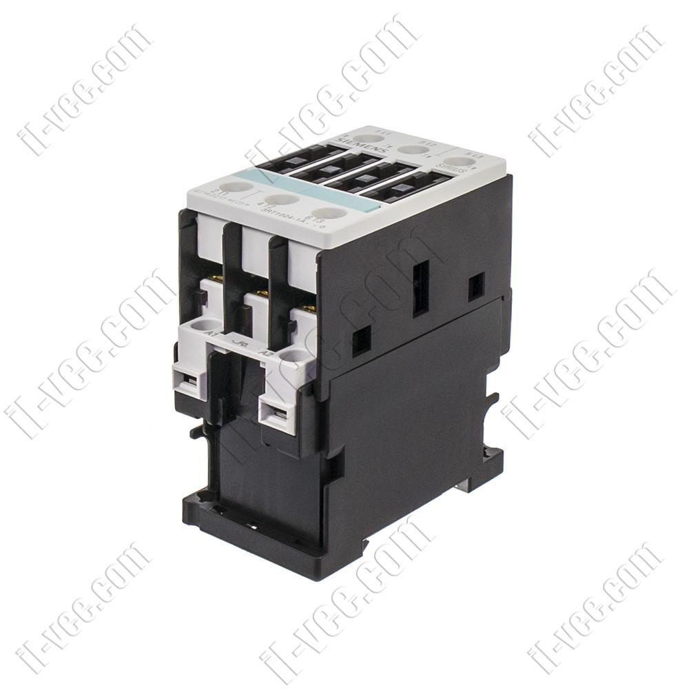 Контактор Siemens 3RT1024-1AF00, AC-3 5.5kW 400V, 110VAC