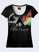 Женсая футболка Pink Floyd rocket