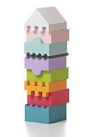 Деревянная пирамидка Cubika  9 деталей