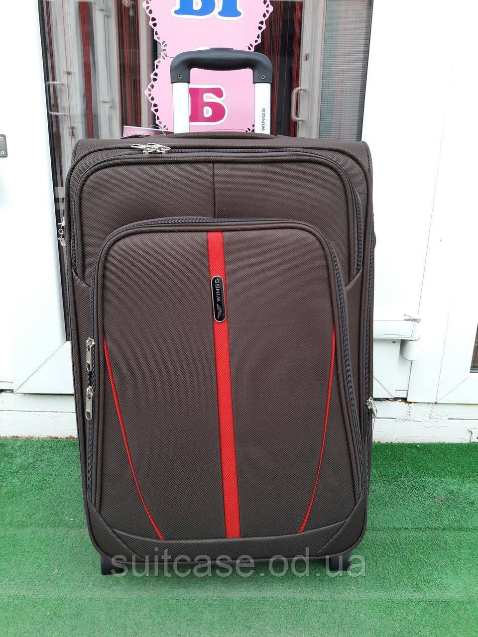 Чемодан дорожный тканевый средний Wings 1706 , на 2-х колесах -  Интернет-магазин 010ff55ec5c