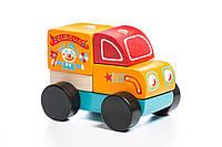Деревянная игрушка Cubika Путишествующий цирк 5 деталей