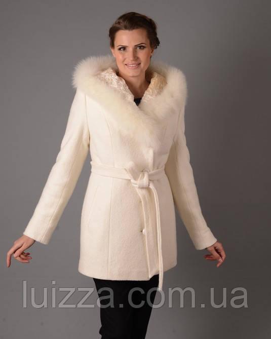 Полупальто зима шерстяное 44-54рр - Luizza-Луиза женская одежда из Украины и Турции, норма, батал  и супер батал !!! в Харькове