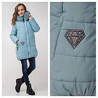 Куртка зимняя для девочки Эллисон Размеры 140- 152