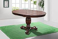 Стол обеденный круглый раскладной Версаль орех