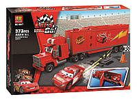Конструктор 10017 Bela Let's Go Тачки Трейлер Мака 373 детали аналог Лего 8486 Тачки (LEGO Cars)
