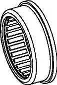 Подшипник игольчатыйдля перфоратора DeWalt D25103K/D25123K/D25124K/D25134/D25143/D25144/D25223K/D25263/DWEN102K/DWEN103K (577813-00)