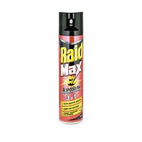 Аэрозоль Raid Max от муравьев и тараканов 300 мл N10503409