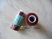 Нитки швейные №040 коричневые 100% полиэстер 400 ярдов