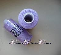 Нитки швейные №017 сиреневые 100% полиэстер 400 ярдов