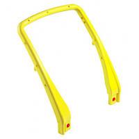 Рукоятка пластмассовая к тележке U-образная (Желтого цвета)