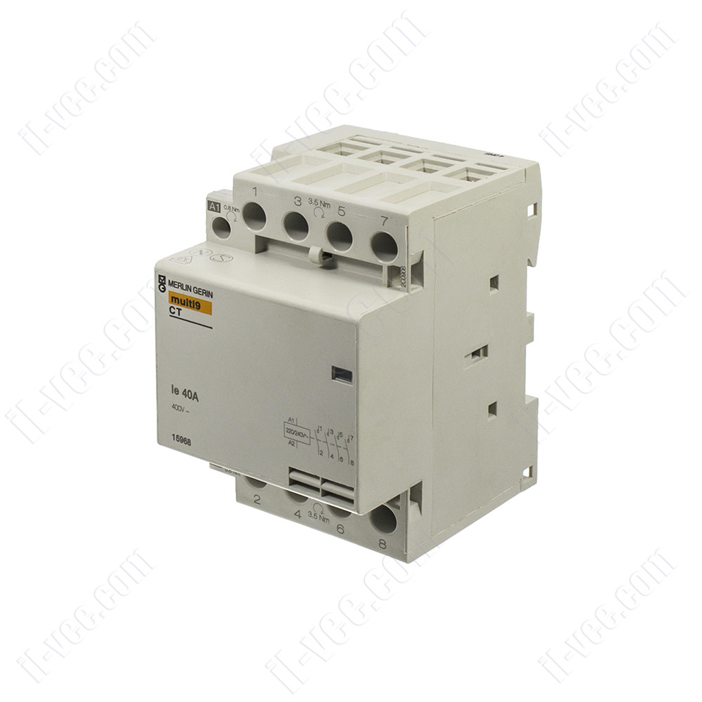 Модульный контактор Merlin Gerin Multi 9 - 15962, AC-3 4kW 400V, 4NO, 240VAC