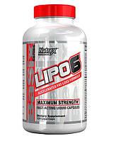 Жиросжигатель Nutrex Lipo 6 Maximum Strength (120 капс)