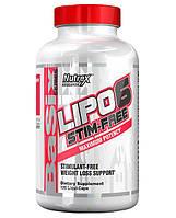 Жиросжигатель Nutrex Lipo-6 Stim Free (120 капс)