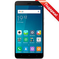 "Смартфон 5.5"" Xiaomi Redmi Note 4X, 3GB+32GB Серый 8 ядер Snapdragon 625 2.5D экран камера Sony 13 Мп 4100 mAh"