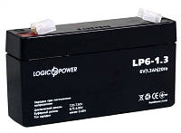 Аккумулятор 6V 1,3Ah LogicPower