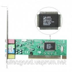 Звуковая карта PCI C-Media 8738 4,1chanel - Alles Good в Днепре