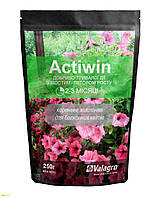Комплексное минеральное удобрение для балконных цветов Actiwin (Активин), 250г, NPK 9.16.14+ME, 2-3 мес., TM RosLa (Росла)