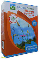 Газонная трава декоративная Flowers Grass Nature, 1кг, GlobalGrass